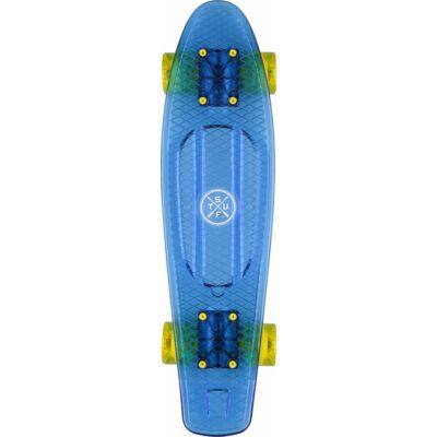 Stuf Ocean retro kék-sárga  pennyboard