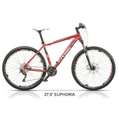 "CROSS Euphoria MTB ffi 48cm 27,5"" kerékpár"