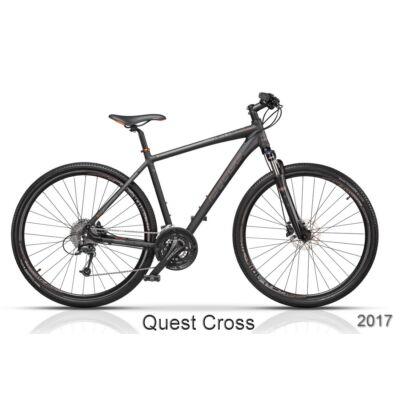 """CROSS Quest cross trekking ffi 50 28"""" kerékpár"""
