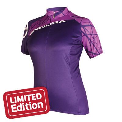 Endura Singletrack Jersey női kerékpáros mez lila