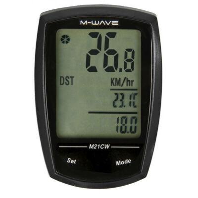 M-Wave wireless kerékpár kilométeróra
