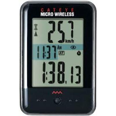 Cateye Micro Wireless CC-MC200W kilométeróra