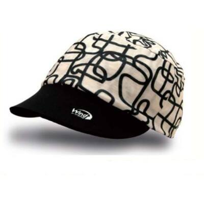 Cool Cap black and white sapka
