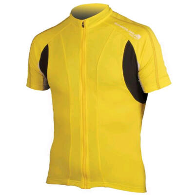 Endura FS260 Pro Jersey kerékpáros mez sárga