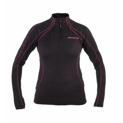 Nordica 10 W soft 1/2 zip női aláöltöző felső