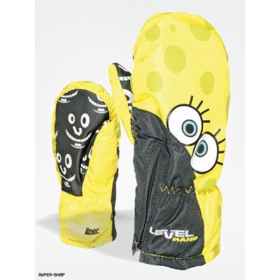 Level Lucky Yellow gyerek síkesztyű
