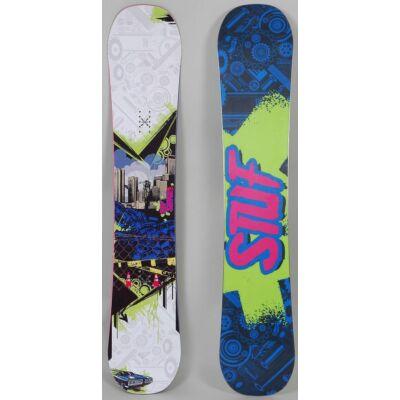 Stuf Surge snowboard + Stuf Style kötés
